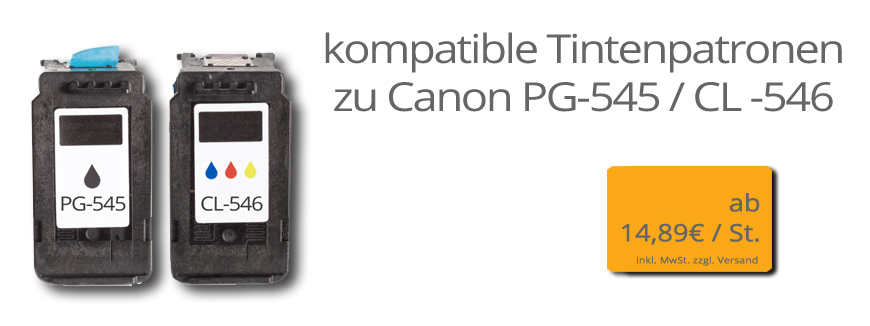 Canon Typ PG-545 | CL-546