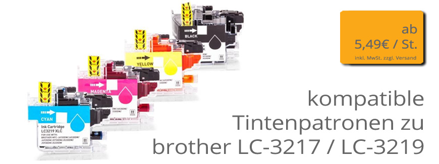 Brother Typ LC3217 - LC3219