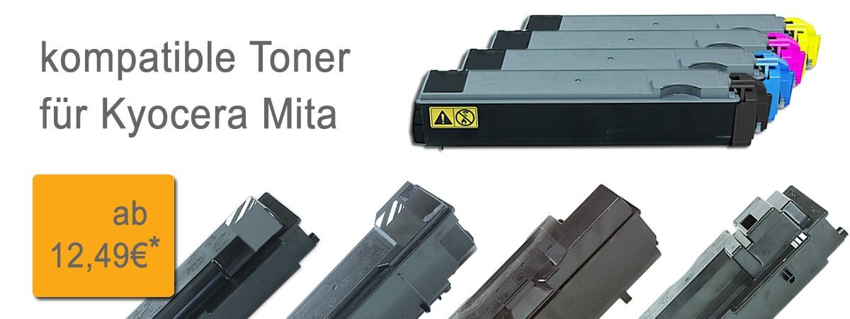 Druckerpatronen für Kyocera Mita - FS - Arztdrucke - Irbis