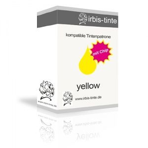 Tintenpatrone kompatibel zu Brother LC121/123Y yellow, mit Chip