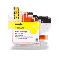 Tintenpatrone kompatibel zu Brother LC3213Y, yellow, mit Chip